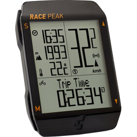 Cube Race Peak Ciclocomputer, black'n'black